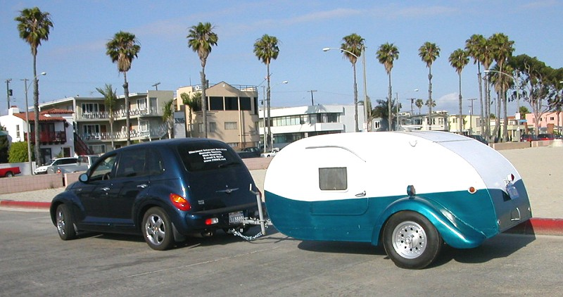 Nick's Teardrop Trailer Page